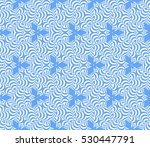 blue color. abstract floral... | Shutterstock .eps vector #530447791