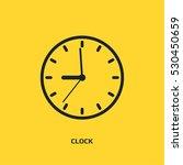 clock logo graphic design...   Shutterstock .eps vector #530450659