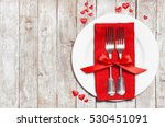 love or valentine's day concept ... | Shutterstock . vector #530451091
