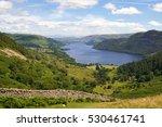 Ullswater Lake In The English...