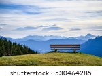 Bench On The Blomberg Mountain...