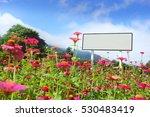 blank billboard with copy space ... | Shutterstock . vector #530483419