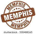 memphis. stamp. brown round... | Shutterstock .eps vector #530488165