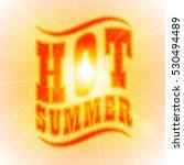 sun sunburst pattern. curved as ... | Shutterstock . vector #530494489