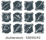 collection of household and... | Shutterstock .eps vector #53050192