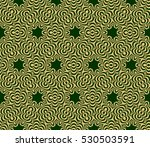 decorative floral seamless... | Shutterstock .eps vector #530503591