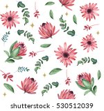 seamless pattern with beautiful ... | Shutterstock . vector #530512039