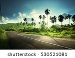 empty road in jungle of... | Shutterstock . vector #530521081