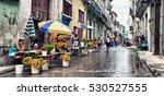 havana  cuba  dec 1  2016 ... | Shutterstock . vector #530527555