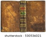 Old Open Book   Leather Cover ...