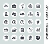 investment icons | Shutterstock .eps vector #530554654