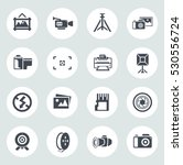 camera and photography icons | Shutterstock .eps vector #530556724