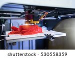 three dimensional printing... | Shutterstock . vector #530558359