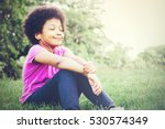 little kid smiling and... | Shutterstock . vector #530574349