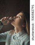 nasal spray to help a cold | Shutterstock . vector #530582791
