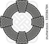 celtic cross. the stylized...   Shutterstock .eps vector #530586784