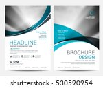 brochure layout design template ... | Shutterstock .eps vector #530590954