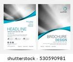 brochure layout design template ... | Shutterstock .eps vector #530590981