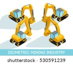 Isometric 3d Mining Industry...