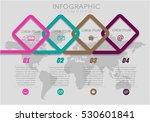 vector elements for infographic.... | Shutterstock .eps vector #530601841