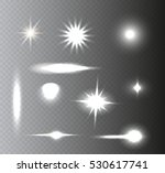 set of lighting effects.light... | Shutterstock .eps vector #530617741