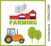 farming and agriculture... | Shutterstock .eps vector #530622589