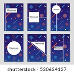 abstract vector layout... | Shutterstock .eps vector #530634127