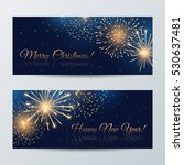 vector set of banners for ... | Shutterstock .eps vector #530637481