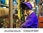 safety at work. welding and... | Shutterstock . vector #530639389