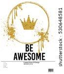 slogan new york vector print... | Shutterstock .eps vector #530648581