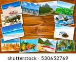 collage from views of the... | Shutterstock . vector #530652769