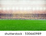soccer or rugby stadium... | Shutterstock . vector #530660989