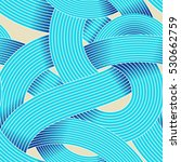 seamless op art vector pattern. ... | Shutterstock .eps vector #530662759