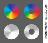 Radial Gradient Vector Circle...