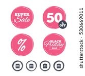 super sale and black friday... | Shutterstock .eps vector #530669011