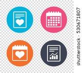 report document  calendar icons....   Shutterstock .eps vector #530671807