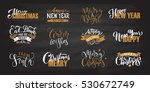 logotype  badge icon typography ... | Shutterstock .eps vector #530672749