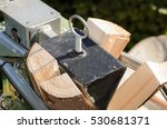 Electric Log Splitter With Woo...