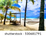relaxing tropical holidays with ...   Shutterstock . vector #530681791