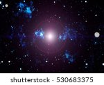 abstraction space background... | Shutterstock . vector #530683375