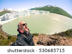 young man solo traveler taking... | Shutterstock . vector #530685715