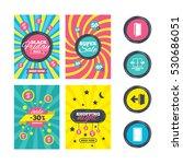 sale website banner templates.... | Shutterstock .eps vector #530686051