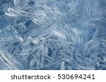 ice blue background | Shutterstock . vector #530694241