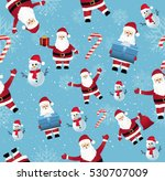 seamless background. happy new... | Shutterstock .eps vector #530707009