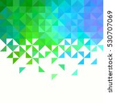 background of geometric shapes. ... | Shutterstock .eps vector #530707069