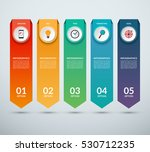 vertical options banner for... | Shutterstock .eps vector #530712235