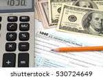 income taxes. tax form business ... | Shutterstock . vector #530724649