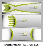 banner template. abstract... | Shutterstock .eps vector #530731165