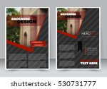 abstract flyer design... | Shutterstock .eps vector #530731777