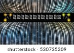 futuristic vector backdrop with ... | Shutterstock .eps vector #530735209